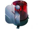 LAMPEGGIATORE 56 LED ROSSI - STRUMENTI ELETTR.MUSICALI SEM_DJR56LED