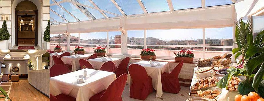 euro-starshotel, unel, roma, domus aurea, ristrutturazione