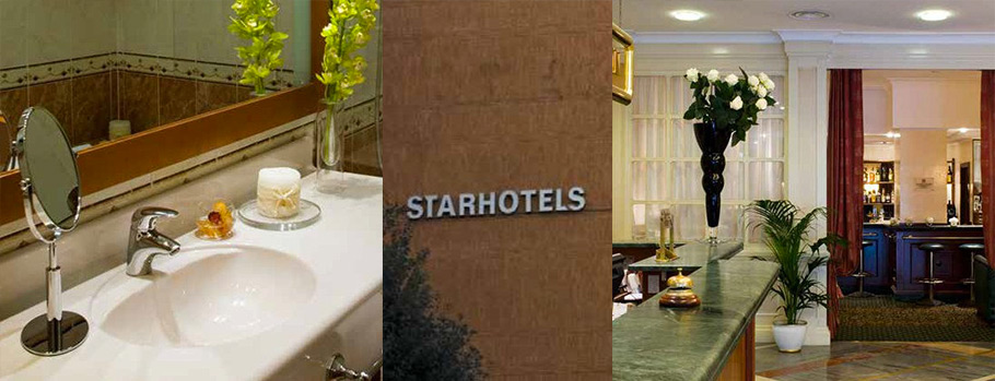 realizzazioni unel, unel, hotel, albergo, starhotels, alberghi roma